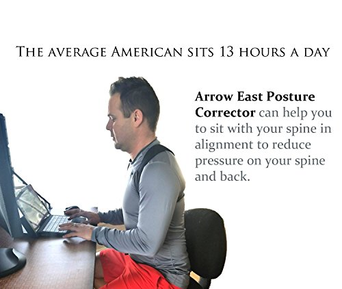 Adjustable Posture Corrector For Men & Women Clavicle Support, Improve Bad Posture, Shoulder Alignment, Muscle Memory, Upper Back and Neck Pain Relief by Tech-Prime (Image #6)