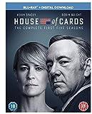 DVD : House of Cards - Season 01 / House of Cards - Season 02 / House of Cards - Season 03 / House of Cards - Season 04 / House of Cards - Season 05 - Set
