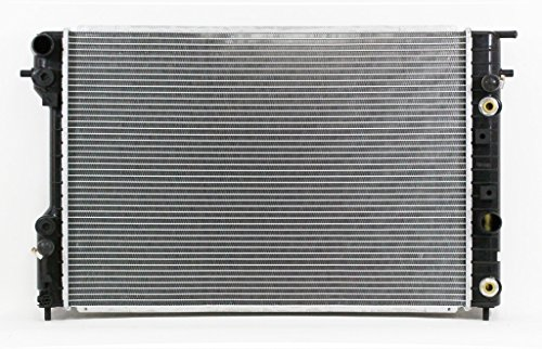 - Radiator - Pacific Best Inc For/Fit 1881 97-99 Cadillac Catera V6 3.0L AT Plastic Tank Aluminum Core 1Row