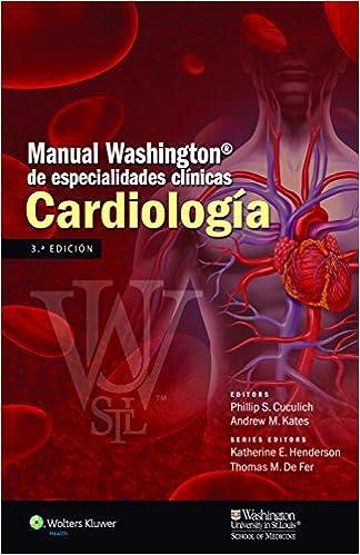 Download gratis bøger til iPhone 4 Manual Washington de especialidades clínicas. Cardiología (Spanish Edition) ePub