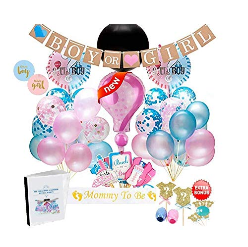 Best Review Of Oakmont Capital -40% Till 15th - Gender Reveal Party Supplies 110 Piece Decoration Se...