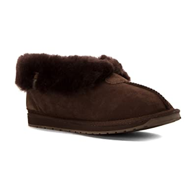 ef8fc4364a Emu Womens Sheepskin Slippers Size 8 Chocolate - Platinum Albany   Amazon.co.uk  Shoes   Bags