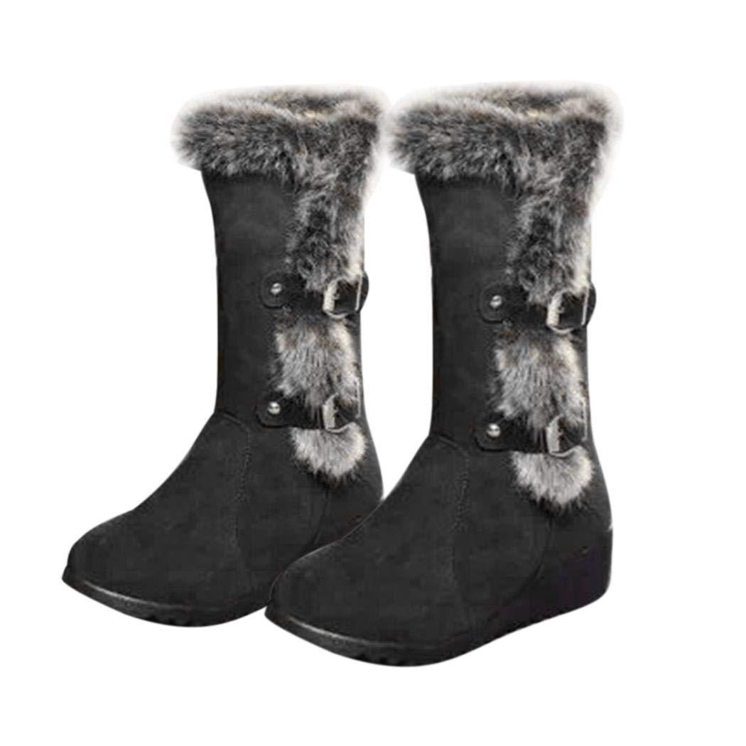Iiloens Frauen im Freien Winter kaltes Wetter Wetter Wetter Schnee warme Stiefel Stiefel & Stiefeletten 2a8fff