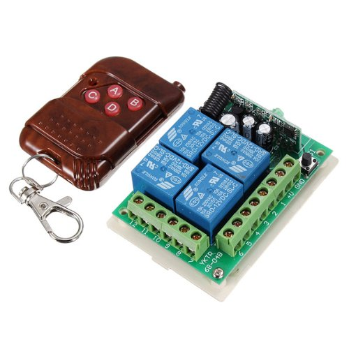 Price comparison product image 4 Ch Receiver Transmitter Wireless Remote Control Switch 12v 315mhz