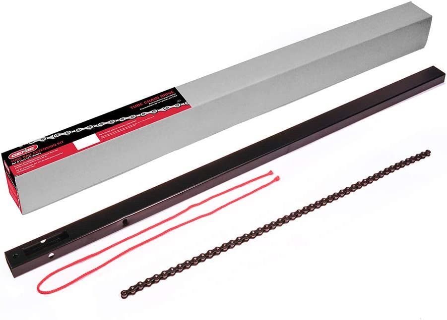 Genie Chain Drive Garage Door Opener 8ft Rail Extension Kit - Extends Your Tube-Style Chain Drive Rails to Fit an 8-Foot Garage Door - Compatible with All Genie Tube-Style Chain Drive Models, EKTC