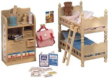 Sylvanian Childrens Bedroom Furniture Set