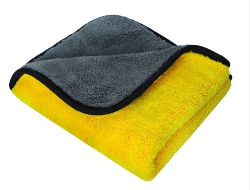 Super Thick Plus Microfiber Car Cleaning Cloth Car Care Microfibre Wax Polishing Detailing Towel - - Advantage Boots Card