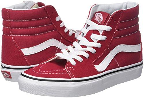 vans red crimson shoes man q9u