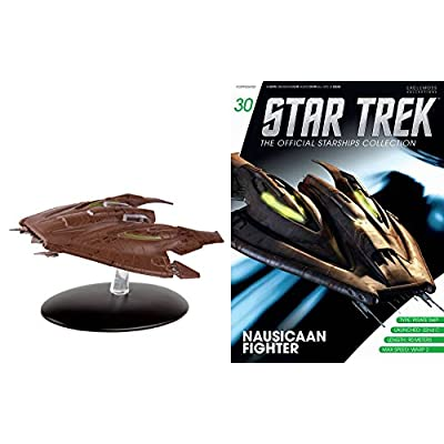 Star Trek Starships Collection Figure & Magizine #30 Nausicaan fighter: Clothing