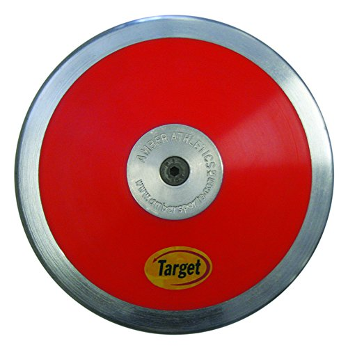 Amber Sporting Goods Target Discus (1.25-Kg) (Best Exercises For Discus Throwers)