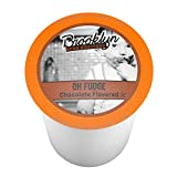 chocolate beans - Brooklyn Bean Roastery Single-cup Coffee for Keurig K-cup Brewers, Oh Fudge, 40-count