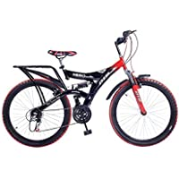 Hero RangerDTB-VX 26T 6 Speed Mountain Cycle (Red/Black)