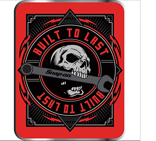 Snap-on tools Skull Built to last decal