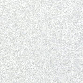 Papier Peint Autocollant 1 m x 45 cm Adzif.biz Le sticker de decoration Rouleau adh/ésif Aspect Cuir Blanc
