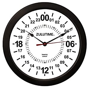 Amazon Com Trintec 14 Quot 24 Hour Military Wall Clock In