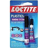 Loctite 681925-6 Super Glue Plastics Bonding System with Activator, 2-Gram Tubes, Case of 6