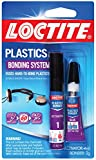 Loctite 681925-6 Super Glue Plastics Bonding System with Activator, 2-Gram Tubes, Case of 6