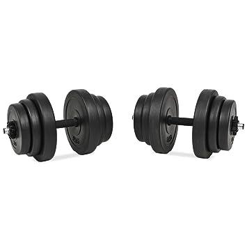 Xingshuoonline - Juego de Mancuernas (18 Piezas, 40 kg, para Gimnasio, Fitness, Deportes, Entrenamiento de Pesas en el hogar): Amazon.es: Deportes y aire ...