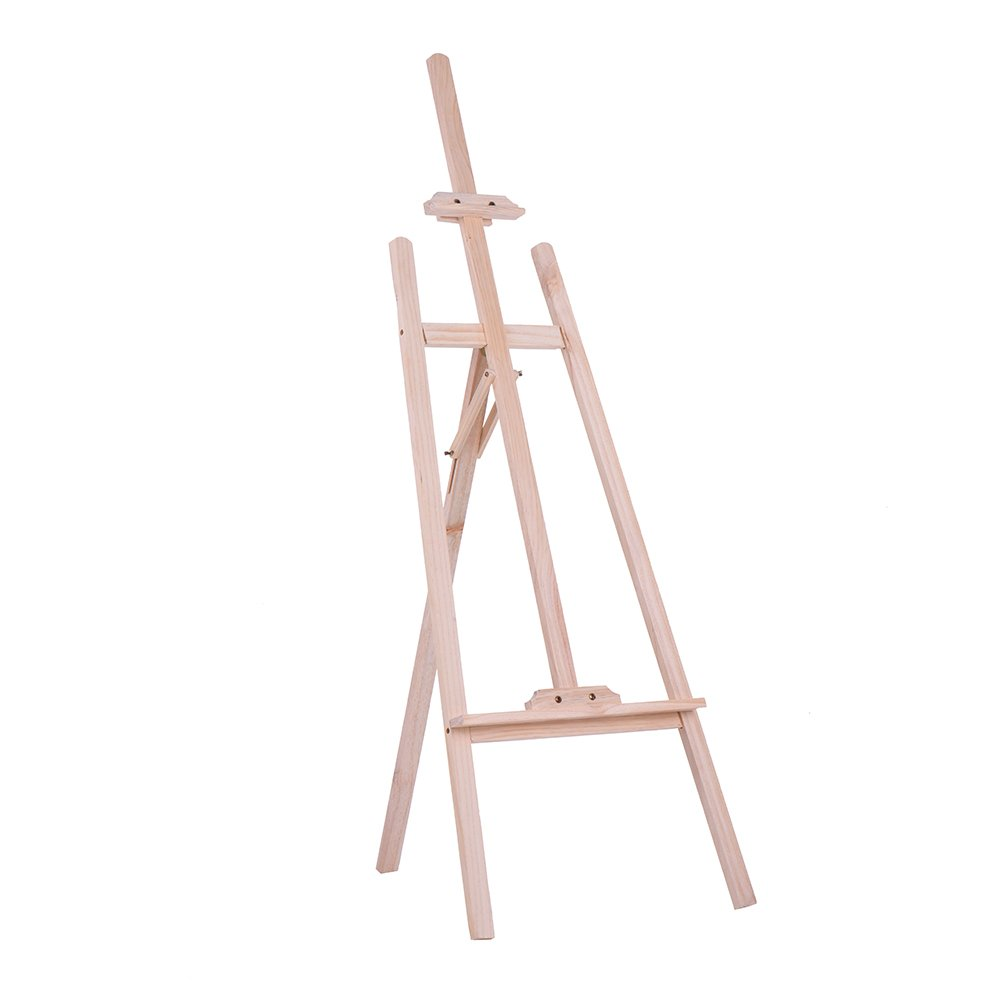 Exhibition Display Stands Nz : Anself painting easel tripod nz pine wooden adjustable drawing
