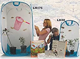 Educational Science Giant Square Pop-Up Butterfly Terrarium, 27 x 27 x 48- in LH175