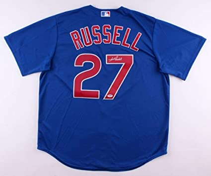 5fedfbeee Addison Russell Autographed Signed Cubs Jersey - PSA DNA Certified ...