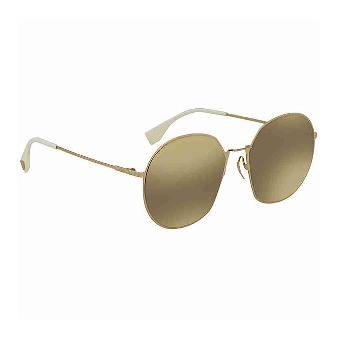 Gafas de Sol Fendi EYELINE FF 0313/F/S GOLD/GREY GOLD unisex ...