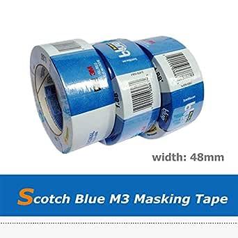 Impresora 3D - M3 Scotch azul Crepe cinta de carrocero para ...