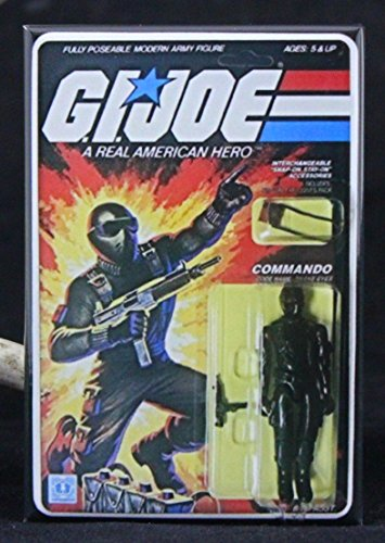 G. I. Joe Card Art Snake Eyes / Commando Refrigerator Magnet. NOT AN ACTION FIGURE OR TOY - THIS IS A REFRIGERATOR (Snake Eyes Players)