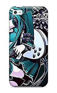 New Arrival Anime Girl Guitar ZrUNjAu11160pLAEO Case Cover/ 5c Iphone Case