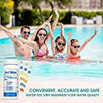 Strisce-Reattive-Spa-per-Vasche-Ehomfy-Test-per-Acqua-Piscina-6-in-1-Pool-Test-Potabile-50-Strisce-pHcloroalcalinita-e-durezza-dellacqua-per-Pool-Spa-Terme-Hot-Tub
