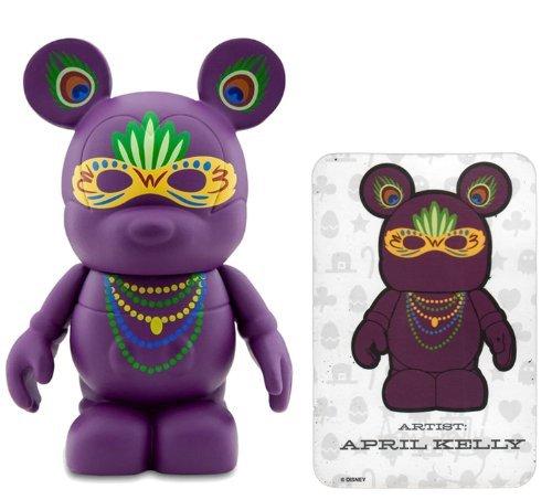 Disney Mardi Gras Mask by April Kelly Vinylmation ~3