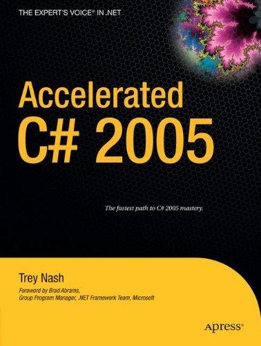 Accelerated C# 2005 -