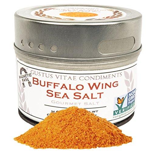 Buffalo Wing Sea Salt, Non-GMO, 3.1oz, Seasoning