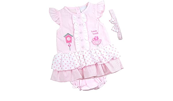 8e3ee84ed BabyPrem Bebé Vestido Bragas Venda Del Bowknot Ropa Pájaro Niña 86-92cm 18-23  Meses Rosa  Amazon.es  Ropa y accesorios