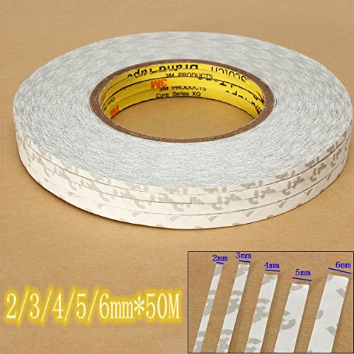 Repair Tools - 2-6mm 50m Double Sided Extremely Strong Tape Adhesive Lcd Glass Cellphone - Telephone Sticky Videotape Call Gummy Magnetic Earpiece Resinous Record - 1PCs
