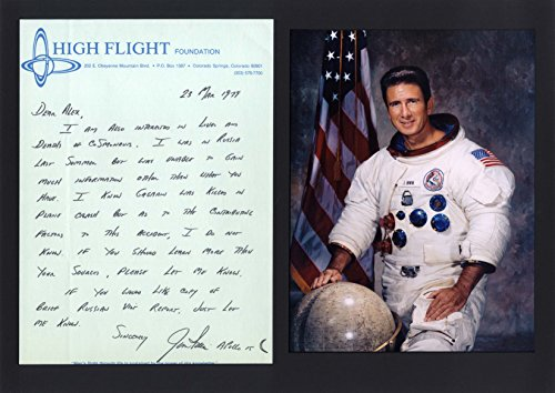 (James Benson Jim Irwin APOLLO 15 autograph, handwritten letter signed)
