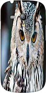 Snoogg Owl Close Up Portrait Designer Protective Back Case Cover For Samsung ...