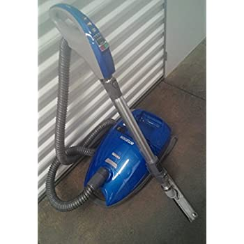 kenmore intuition vacuum. kenmore 28014 intuition canister vacuum cleaner - blue g