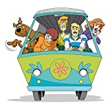 Chicbanners Scooby Doo Mystery Machine 3D V2 Magic Window Wall Sticker Self Adhesive Poster Wall Art size 750mm wide x 750mm deep (large)