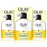 Olay Complete Lotion Moisturizer with SPF 15 Sensitive, 4.0 Ounce, 3 Count