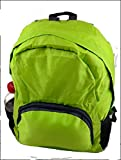 Collapsible Backpack. Lightweight and convenient. Just throw this bag in your suitcase because you'll always bring home more than you left with. (Green) For Sale