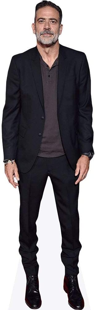 Celebrity Cutouts Jeffrey Dean Morgan Pappaufsteller lebensgross Suit