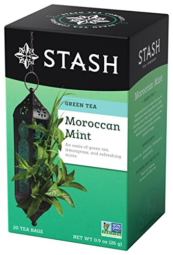 Stash Premium Tea Green Tea, Moroccan Mint, .9 oz