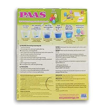 PAAS Sparkling Glitter Easter Egg Kit: Toys & Games