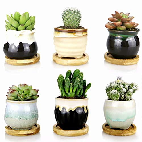 Juvale Terra Cotta Pots – 9-Count Terracotta Pots, 3.5-Inch Mini Flower Pots with Drainage Holes, Clay Flower Pots Small Ceramic Pottery Nursery Planters for Cacti and Succulent Plants