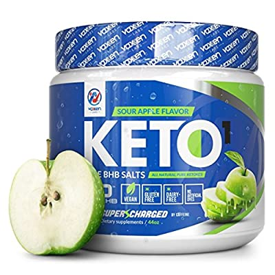 Exogenous Ketones Powder with Beta Hydroxybutyrate BHB Salts for the Ketogenic Diet – Supplement Drink to Help Reach Ketosis, Burn Fat, Reduce Stress, and Boost Energy