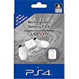 Venom Officially Licensed Rechargeable Battery Pack for Sony Playstation 4 - Power Bank for PS4 Controller / Gamepad - White