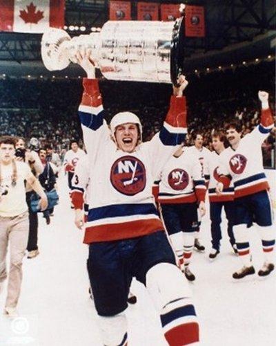 Mike Bossy New York Islanders Stanley Cup Hockey Photo Print (8 x 10)