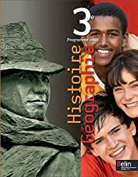 Histoire Géographie 3e : Programme 2012