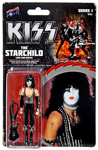 Kiss Love Gun The Starchild 3 3/4-Inch Af Kiss Love Gun The Starchild 3 3/4-Inch Af -